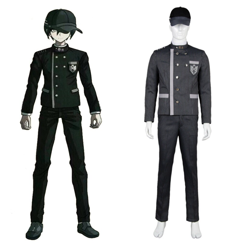 Killing Harmony Saihara Shuichi Cosplay Costume Halloween Outfit Danganronpa V3