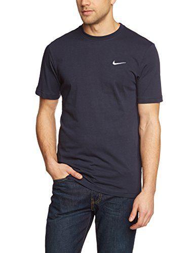 5b7848ea50f0f 7: Nike Men's Swoosh Cotton Crew T-Shirt | tee shirt | Nike men, T ...