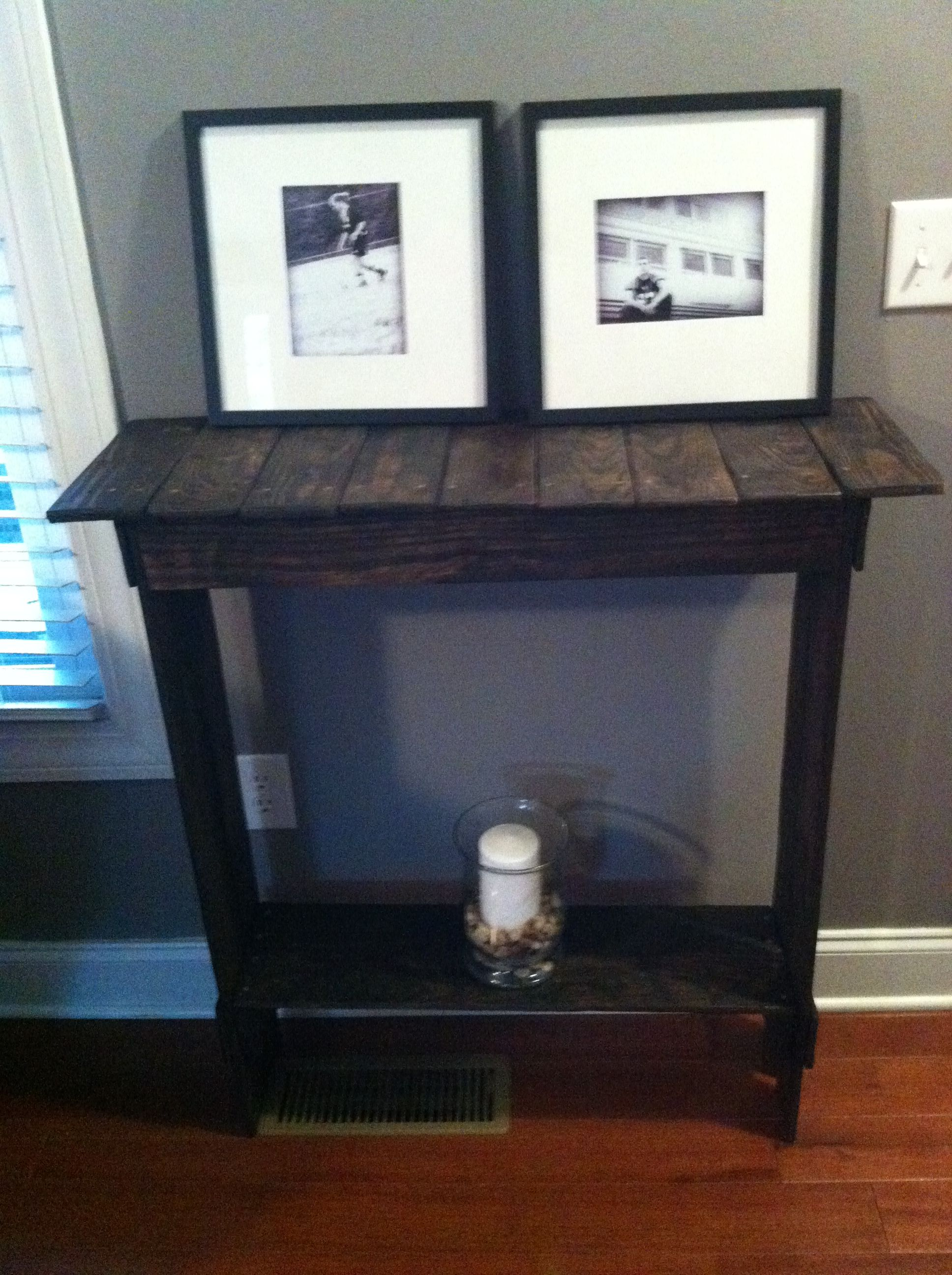 Pallet Entry Table Another Michael Original Pallet Entry Tablelove It Pallets