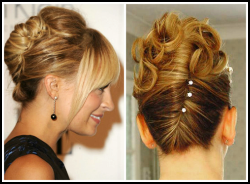 Latest Easy Updos For Thin Hair