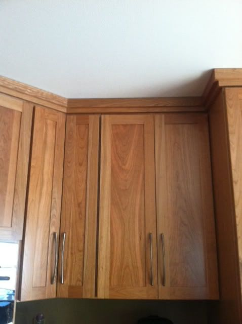 Badgergal S Simple Crown Molding From Gw Kitchen Home