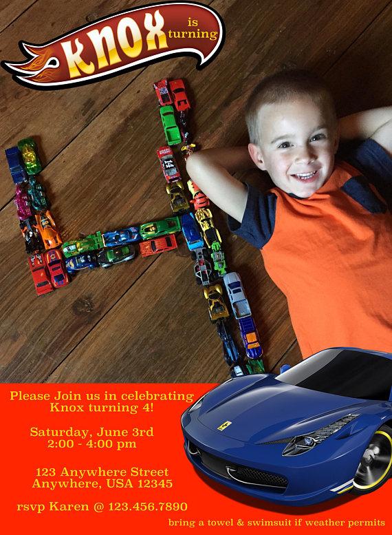 Hot Wheels Birthday | Etsy
