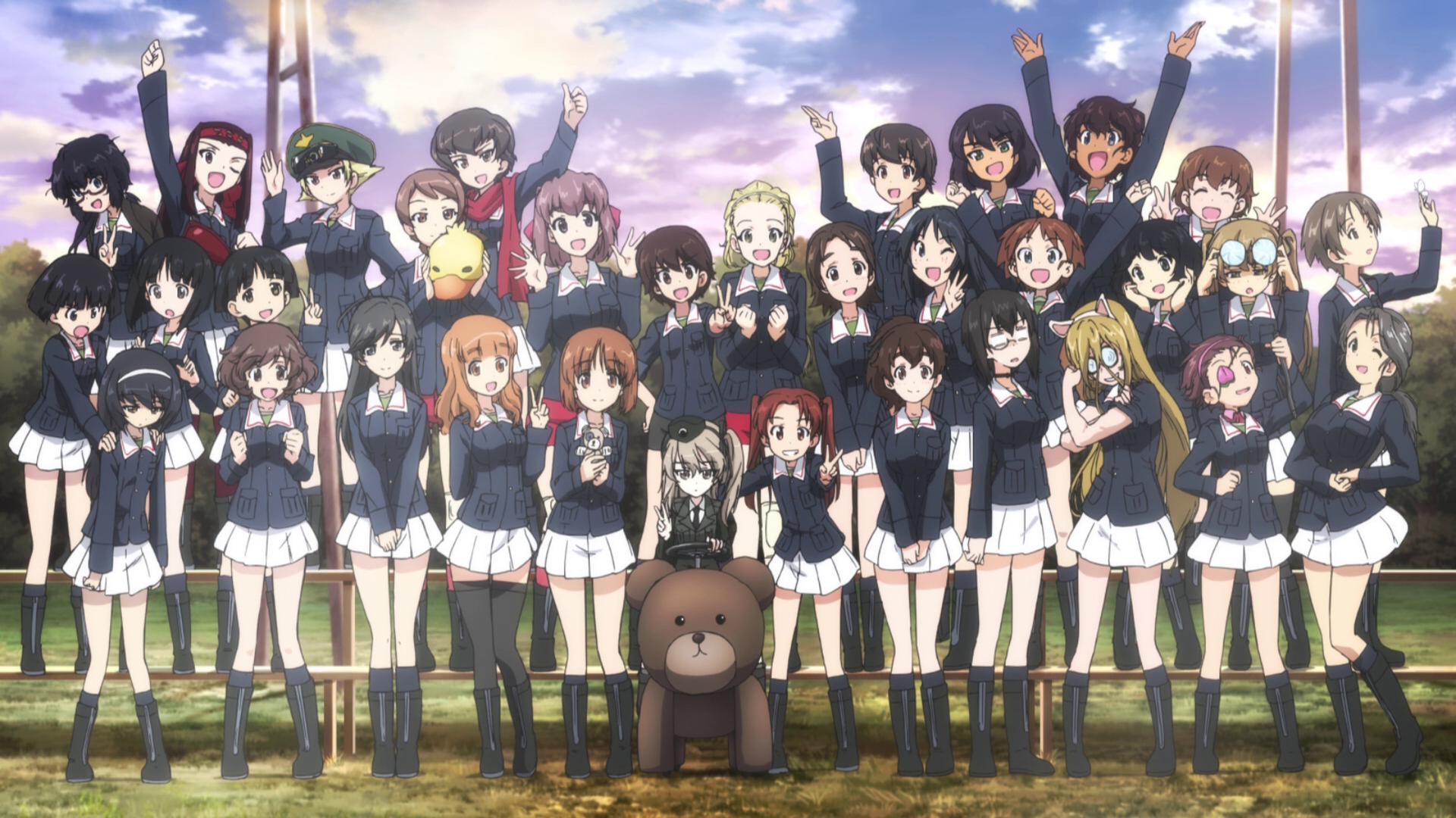 Girls Und Panzer Der Film Sequel Ova Alice War Anime School