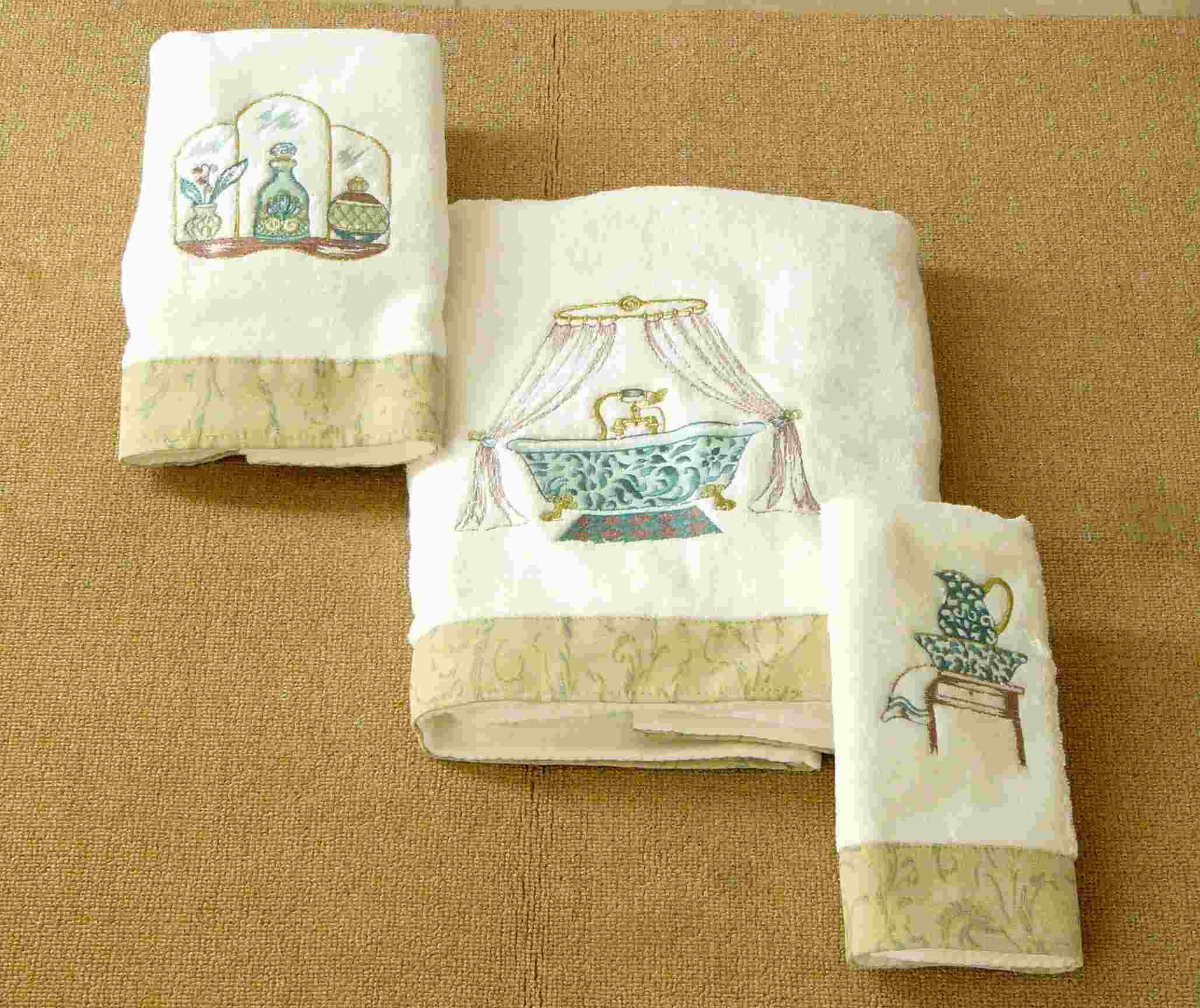 Amazing Buy Embroidery Towel Bath Towel Set In China On Alibaba.com