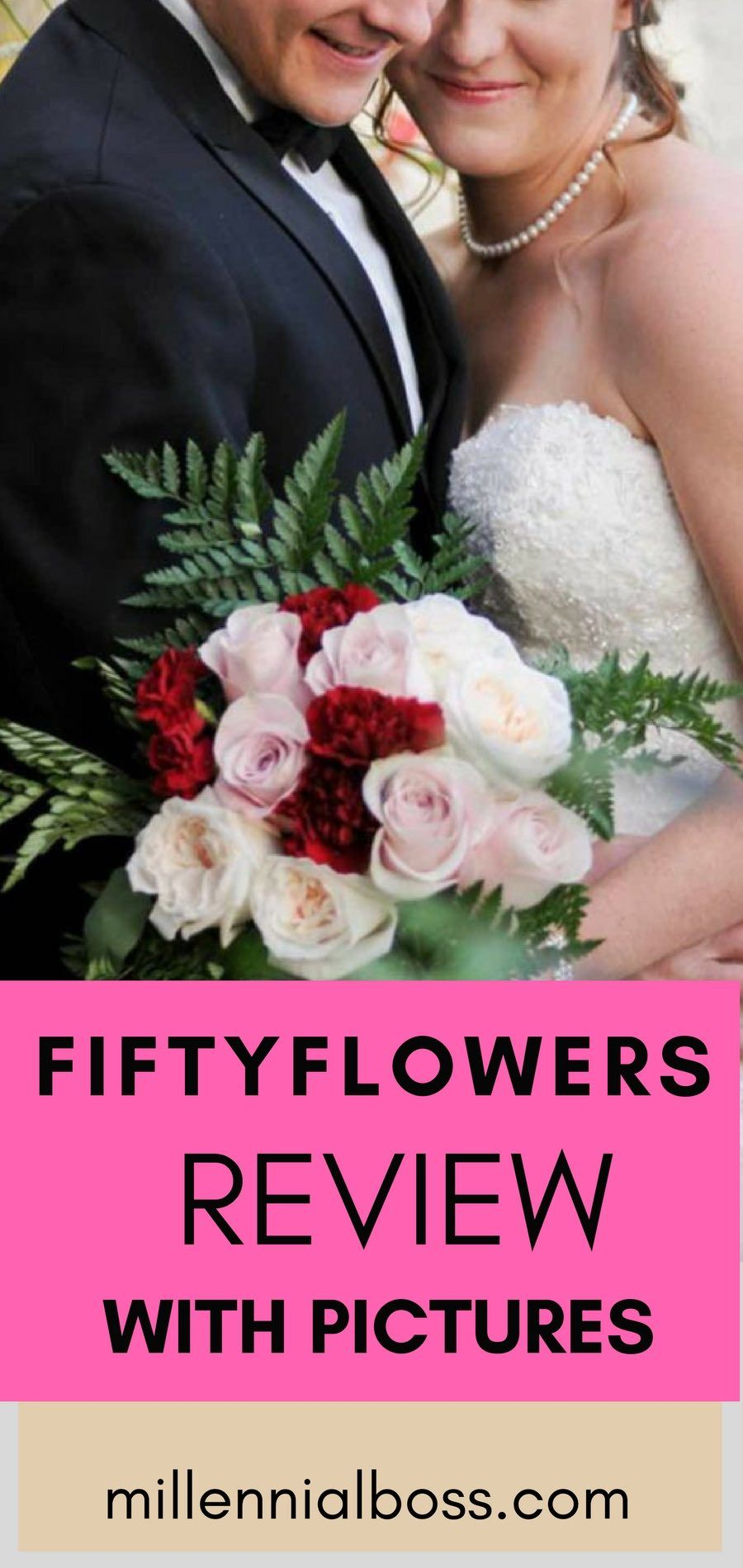 52eb9ec400 Fifty Flowers Review - How I Did My Own Wedding Flowers with Pictures