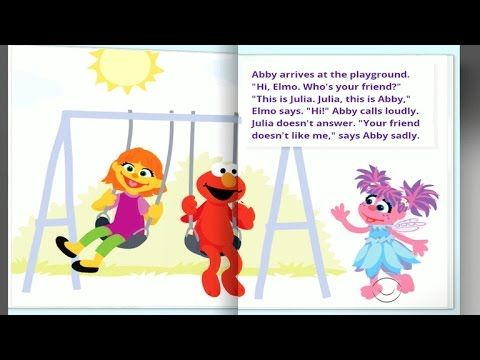 Sesame Street welcomes first autistic character - Julia, a new - new periodic table autistic