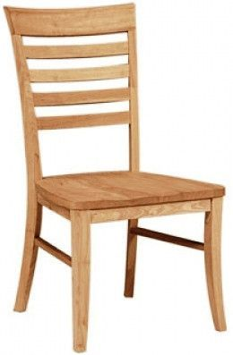 Roma Unfinished Dining Chair with Wood Seat (2-Pack) | Products ...