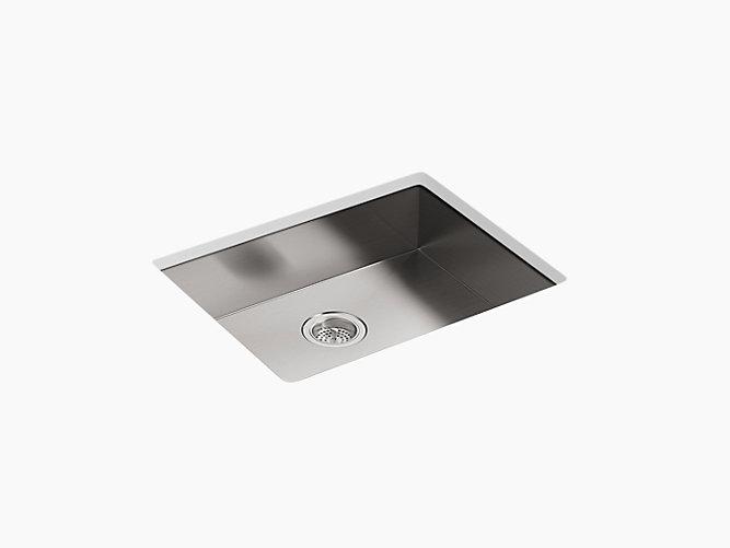 Vault 25 X 22 X 6 5 16 Single Bowl Dual Mount Kitchen Sink