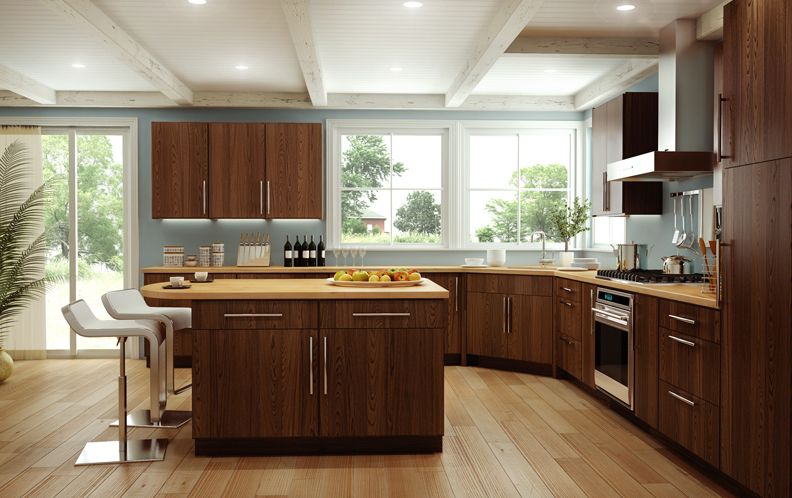 Cornerstone Kitchens in Red Oak Canyon Creek Copenhagen style