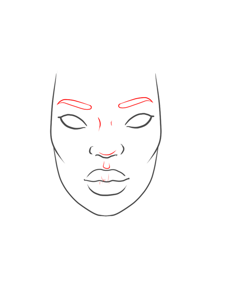How To Draw A Black Girl Step By Step : black, Drawings