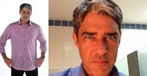 William Bonner aparece com olhos azuis em foto - William Bonner apareceu de olhos azuis em uma foto do Instagram. Confira!