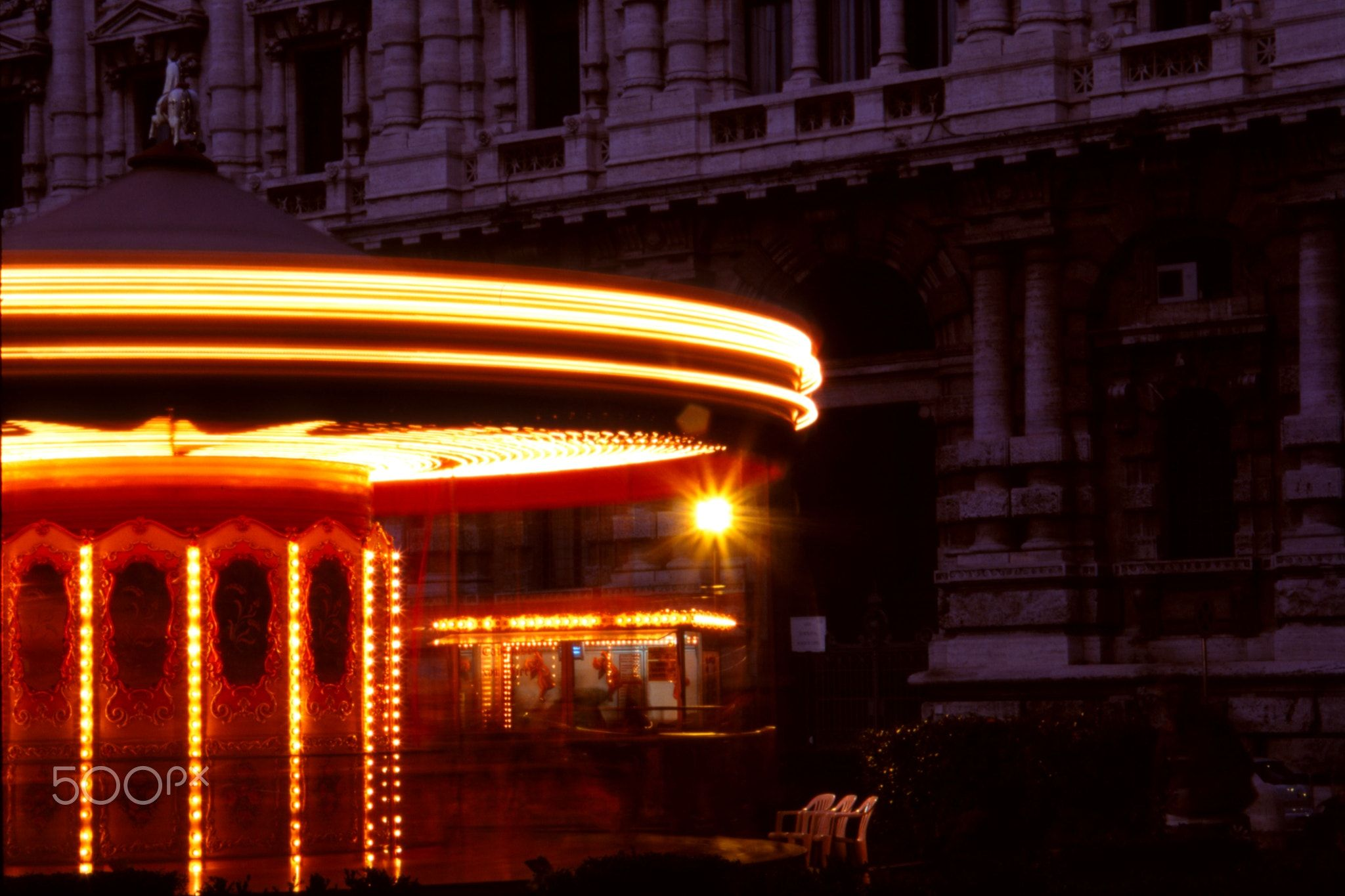 Carousel - Carousel in front of the Palace of Justice in Rome