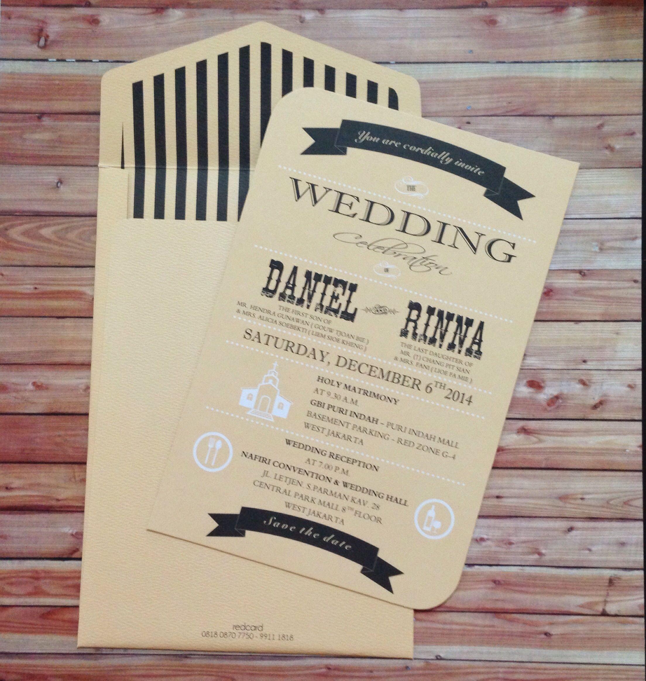 Pin By Ditsza Diandra On Wedding Invitation Wedding