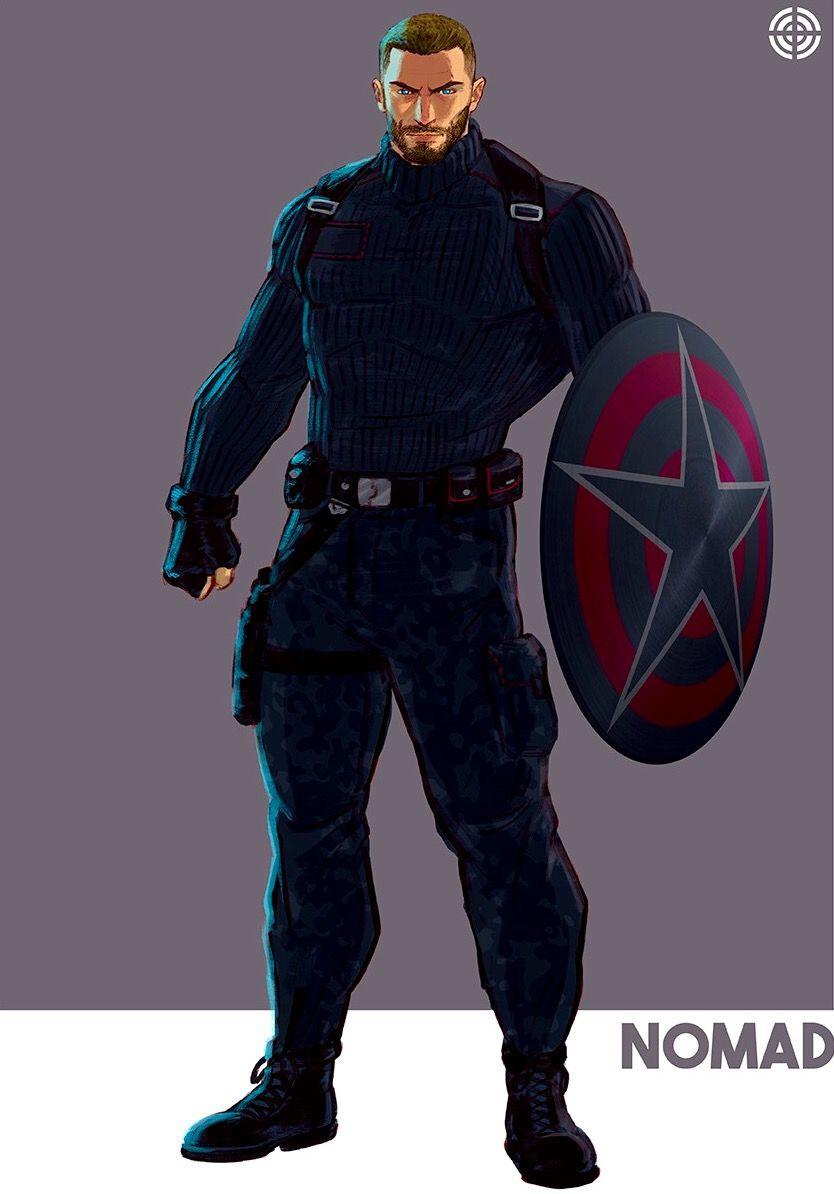 Capitán América Posible Traje En Avengers Infinity War Heroes