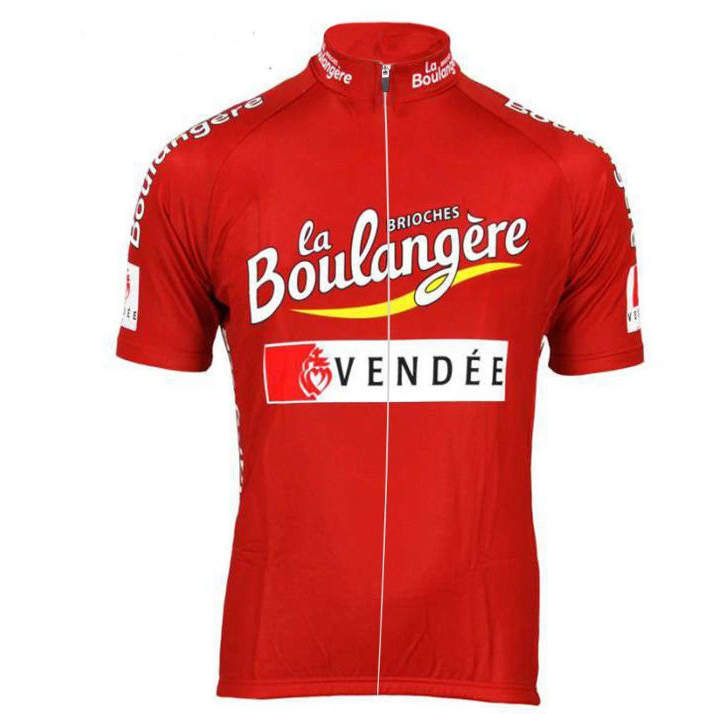 34a013d5d New red Summer Cycling jersey ropa ciclismo Men Short sleeve Retro team  bike wear Cycling clothing