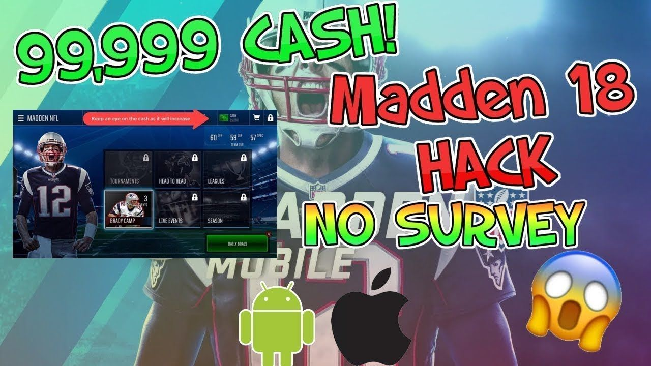 madden nfl mobile hack how to get unlimited coins and cash no survey