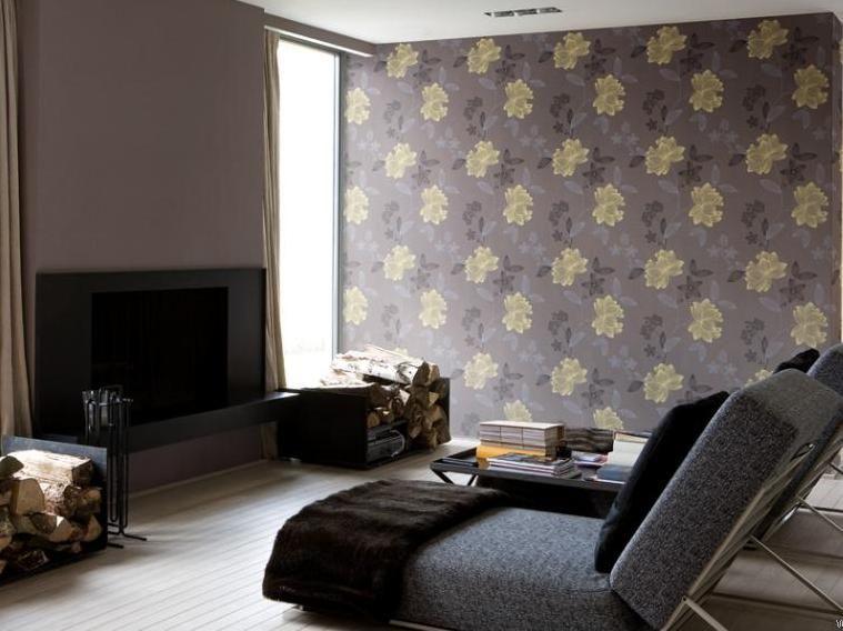 Der Trend, Minimalistischen Wohnzimmer Tapete #Wohnzimmermöbel - tapete für wohnzimmer