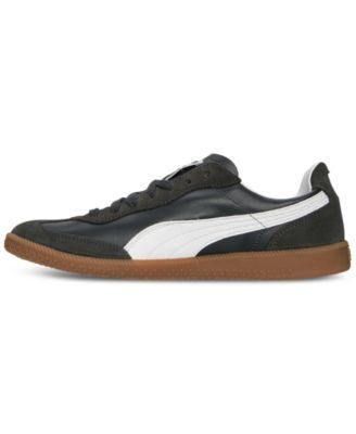 8c1a07ee0b3f94 ... leather  puma mens super liga og retro casual sneakers from finish line  blue 11.5
