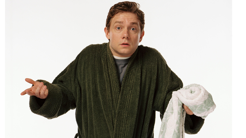 These Last Minute Costumes Could Save Your Halloween Arthur Dent from The Hitchhiker's Guide to the Galaxy