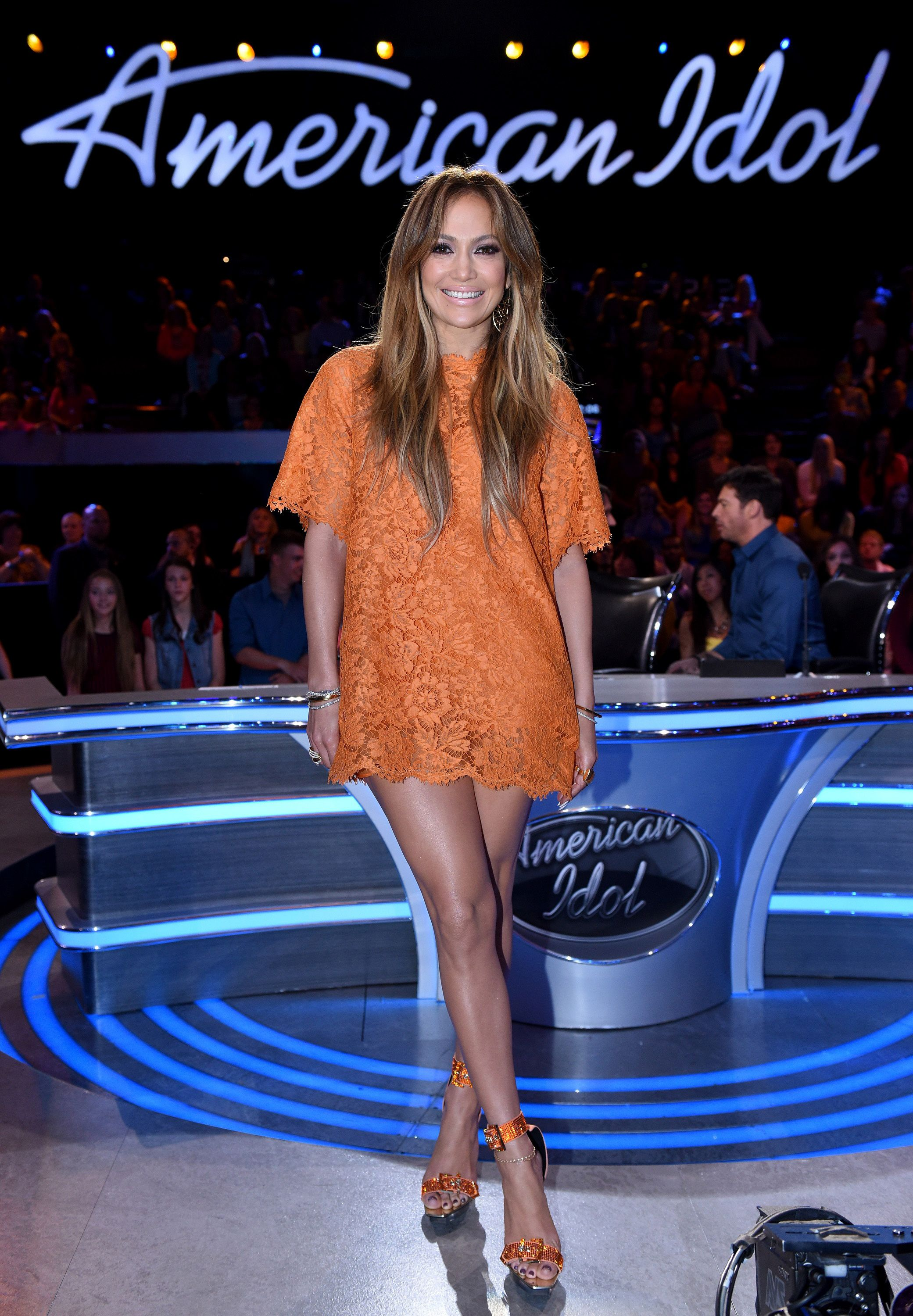 Jennifer Lopez wore 10 Outfits to Host the 2015 AMA