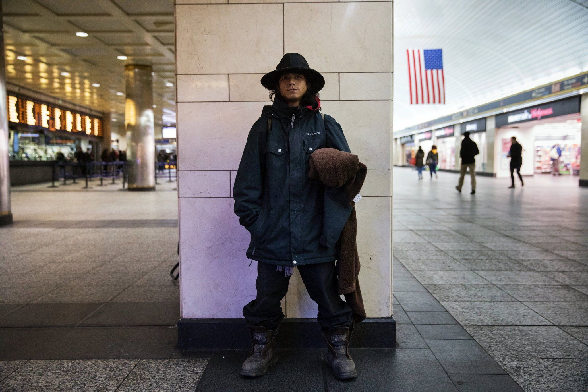 As homeless take refuge in subway more officers are sent