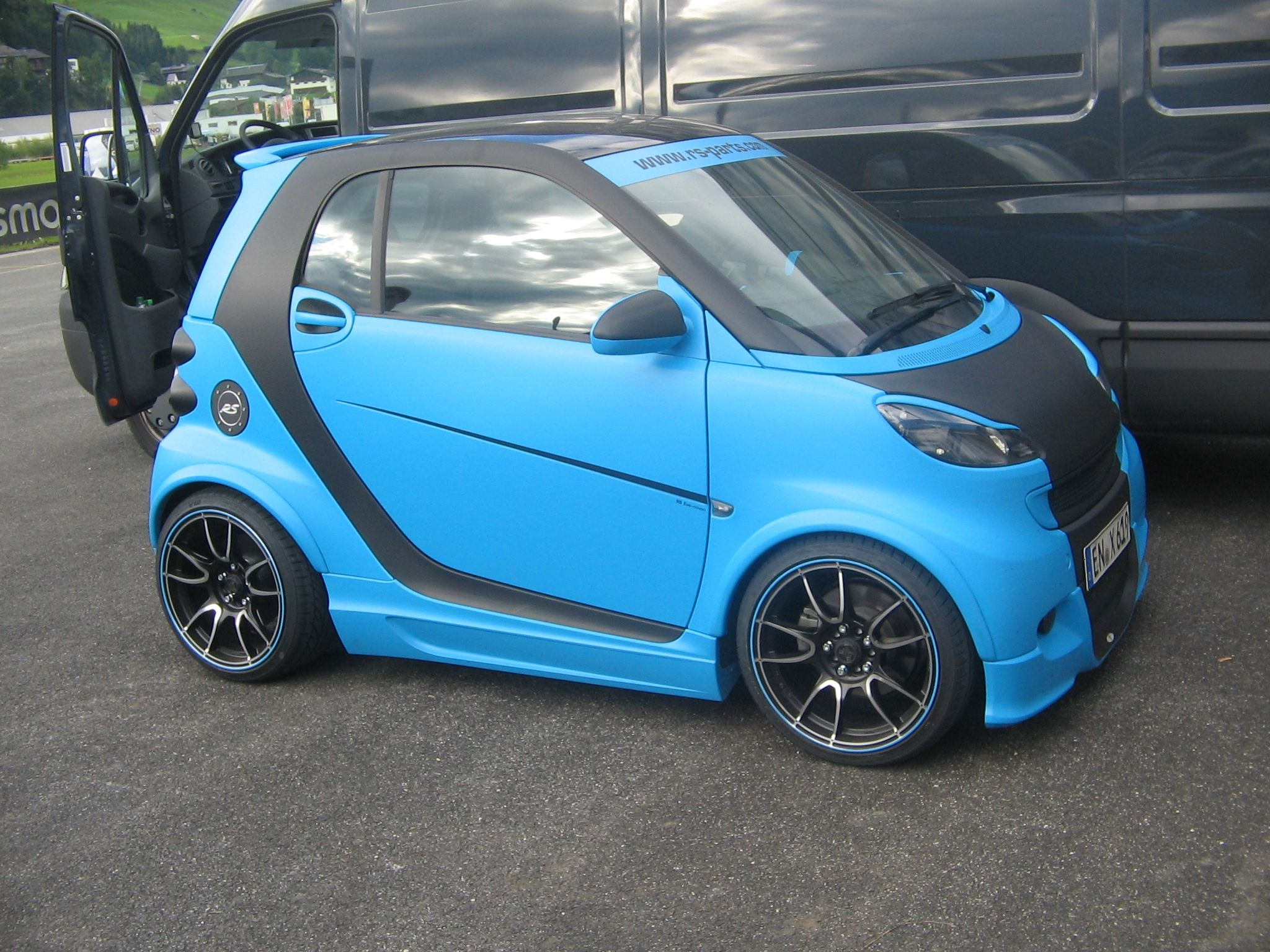 Rs Parts Tuning Smart Car Smart Car Body Kits Smart Fortwo