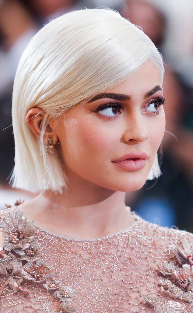 Eyes Kylie Cosmetics: Kylie Jenner From 2017 Met Gala: Best Beauty