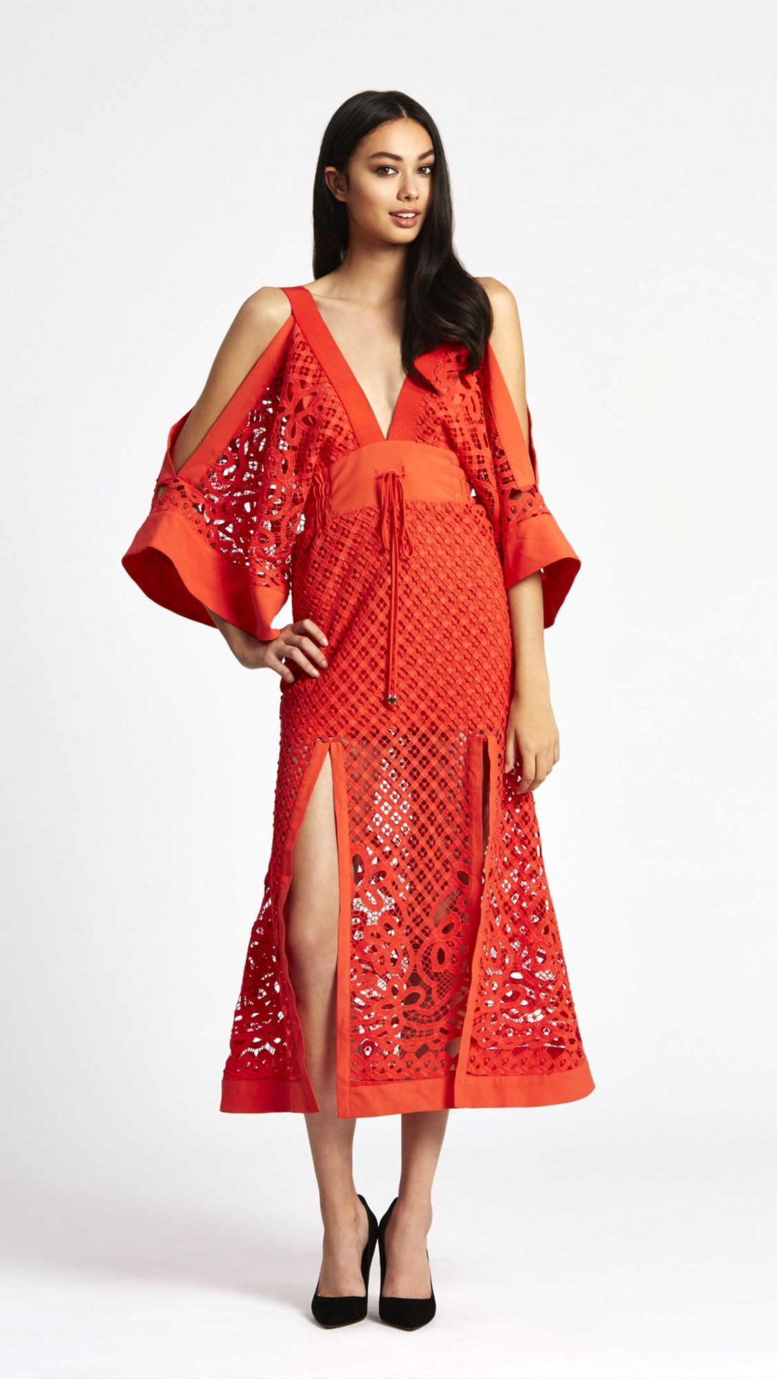 Alice Mccall Break My Love Dress Red Aussie Design Dresses