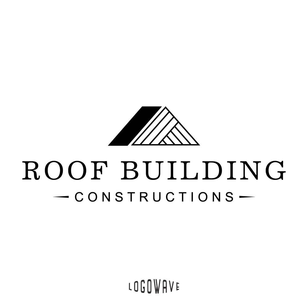Roof Logo Roofing Logo Roofing Company Logo Construction Home Logo Home Logo Home Estate Logo Roofing Premade Logo House Roof Logo Nel 2020 Loghi