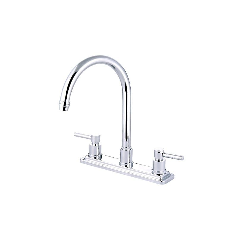 Elements Of Design Es87dlls Tampa Kitchen Faucet High Arc With