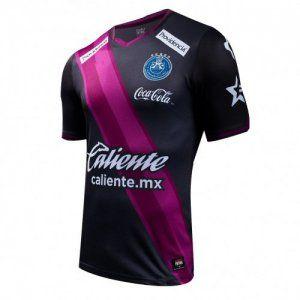 d096ed7c4 Puebla FC 16-17 Season Third Black Soccer Jersey  I785