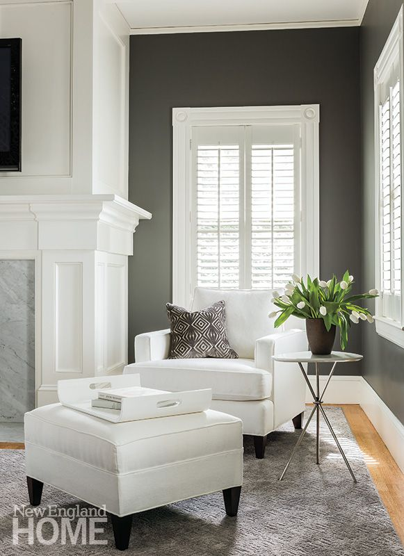Suburban Style Across The Great Divide New England Home Magazine House And Home Magazine Family Room Inspiration Home #new #england #living #room