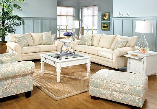 Shop for a hilton head 7 pc living room at rooms to go - Hilton furniture living room sets ...