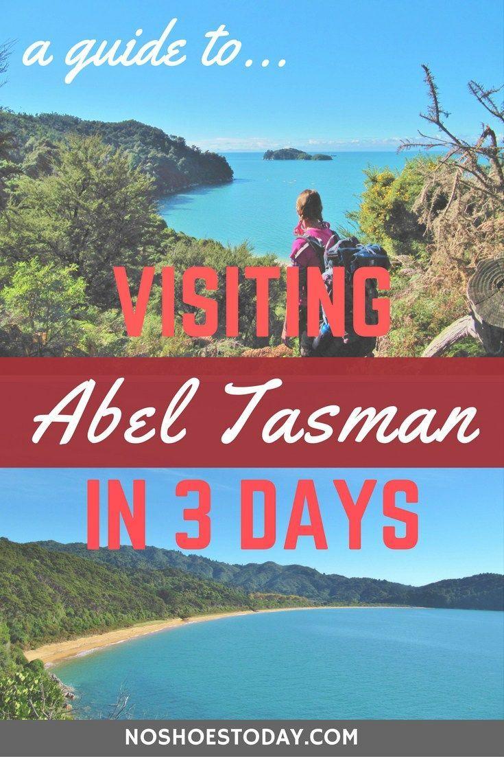 3 Days Exploring The Abel Tasman National Park Tasman National Park Abel Tasman National Park Island Travel