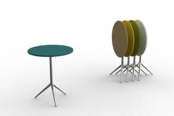 Les petites pliantes Sledge Tables de bar restaurant