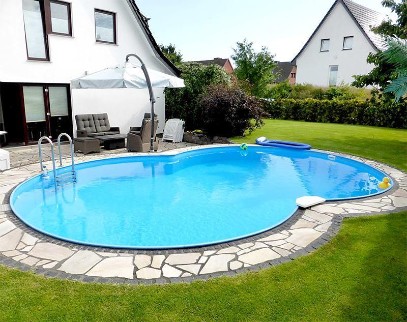 ein kleiner urlaub für zwischendurch: einfach am eigenen #pool, Hause und garten