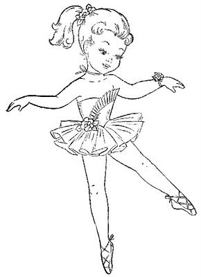 Even More Colouring Book Images With Images Ballerina Coloring
