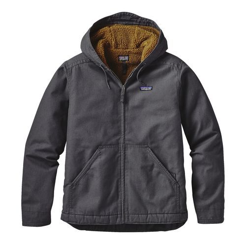 M's Lined Canvas Hoody, Forge Grey (FGE) | Mens jackets