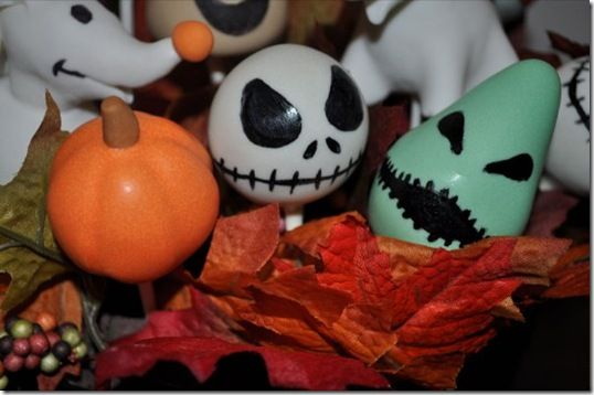 Spooktacular Nightmare Before Christmas Cake Pops Cake pop, Cake