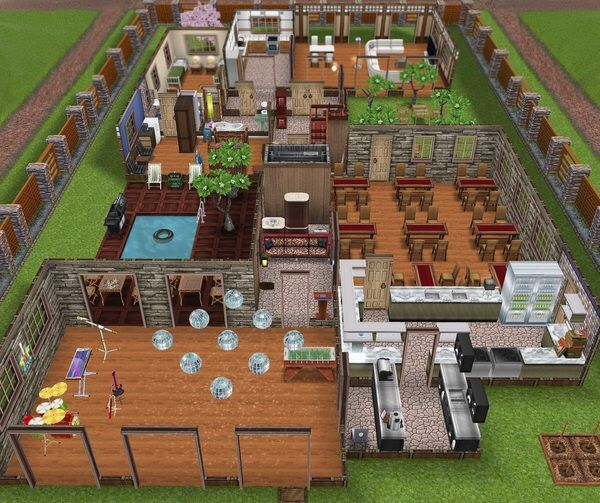 #Sims #Freeplay. I Like The S Shape House And The Bar In