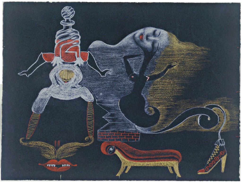 Landscape, 1933 — André Breton, Museum of Modern Art