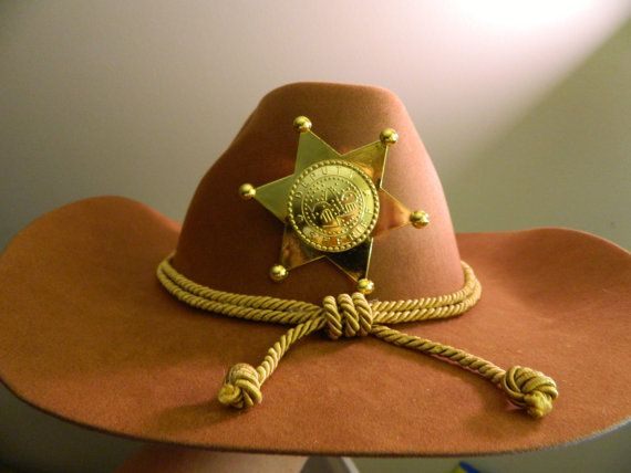 7f613694198 CARL GRIMES The Walking Dead Sheriff Hat Costume by 1NerdCreations ...