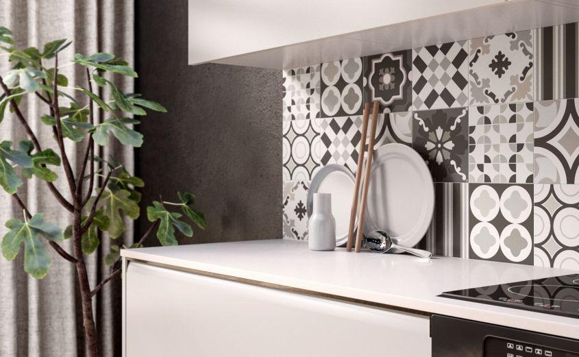 Cementine in cucina, dal pavimento ai rivestimenti: le idee più ...