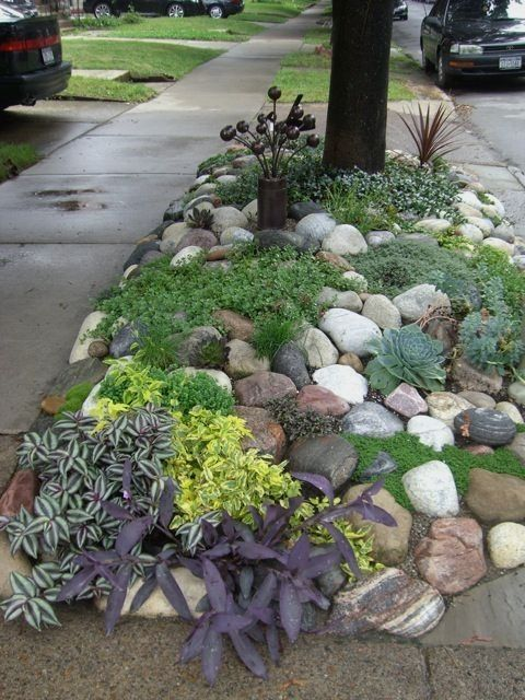 Landscaping Ideas 1 Acre Lot Landscapingideas Small Front Yard Landscaping Rock Garden Landscaping Plants