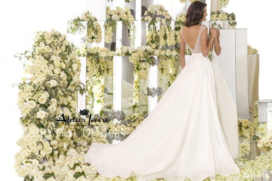 Wedding dress Livorno by Atelier Ivoire! www.atelierivoire.bg | Be ...