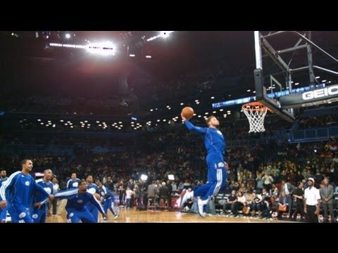 Phantom: LA Clippers Dunk Practice!