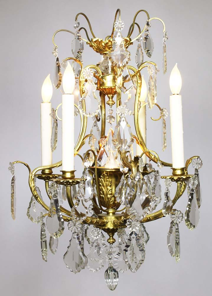 A Charming French Louis XV Style Gilt Bronze