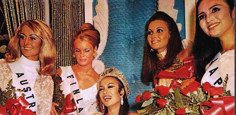 1969 Miss Universe: 2nd Runner-up Joanne Barret of Australia