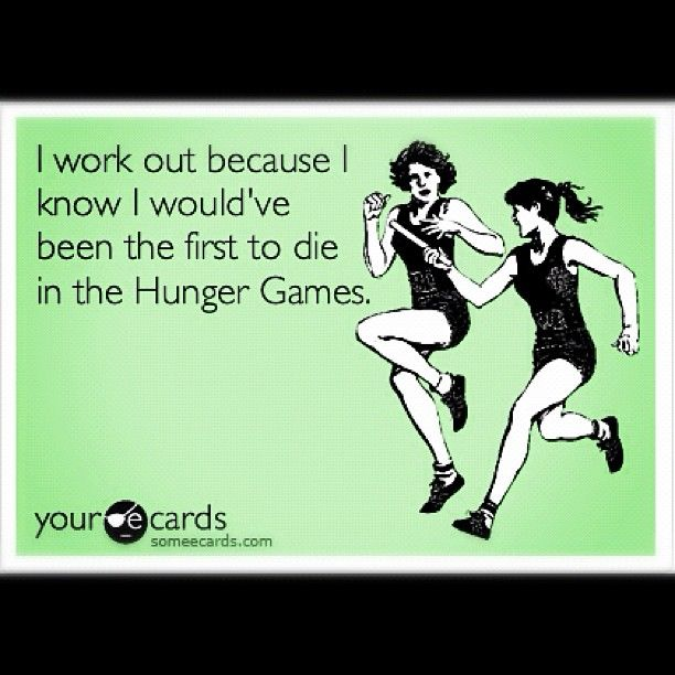 The Hunger Games, a film released on March 23, was already trending on Twitter weeks before it officially debuted. This funny image, posted by @womenshealthmag (850.000+ followers), pays homage to the popular movie. #HungerGames