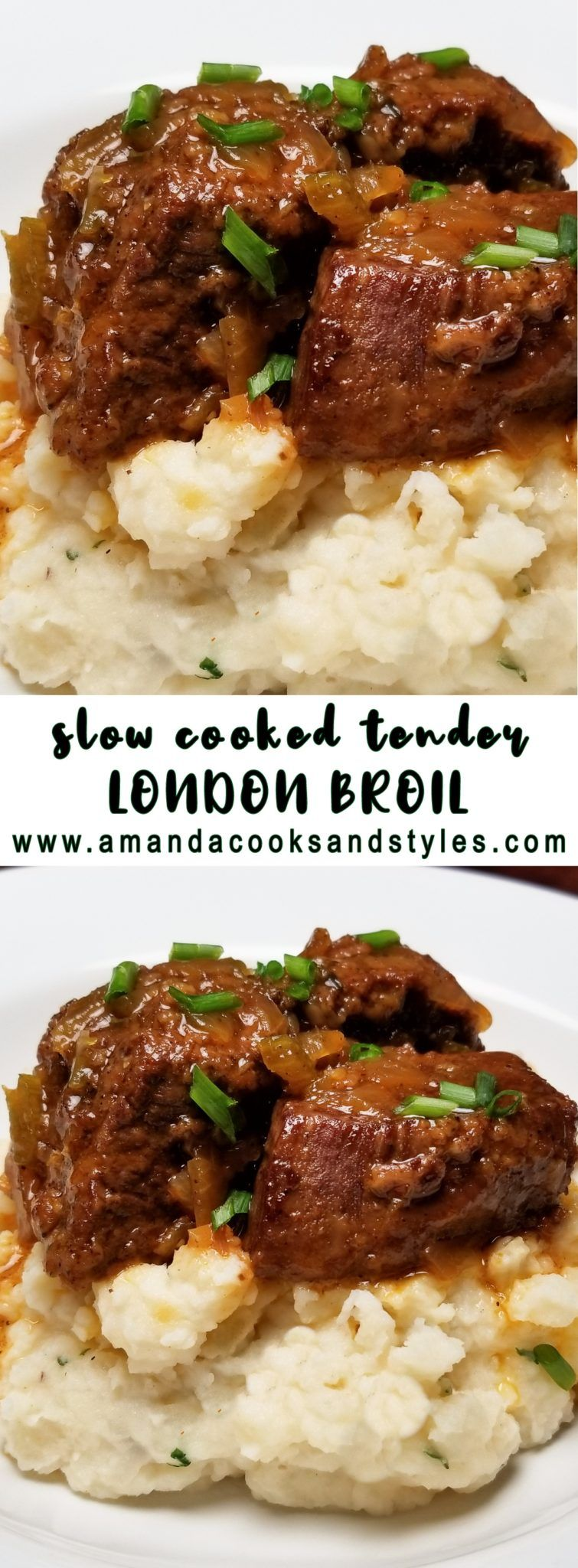 Slow Cooked Tender London Broil